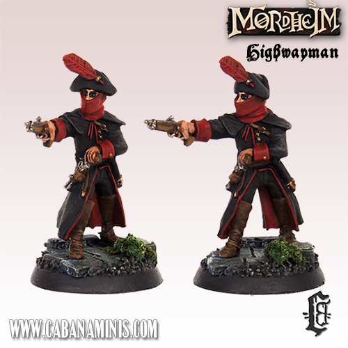 Highwayman on Foot - Mordheim