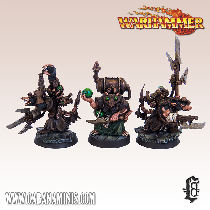Skaven Engineers & Poison Wind Globadier