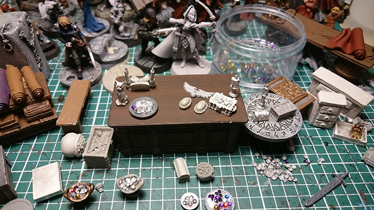 Jeweler's Shop Counter