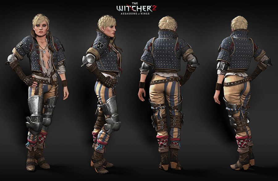 Witcher 2 - Ves Artwork