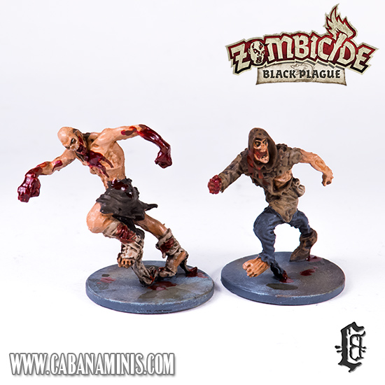 Zombicide: Black Plague - Painted Runners (Two)