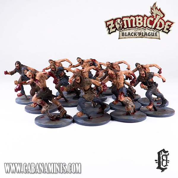 Zombicide: Black Plague - Painted Runners