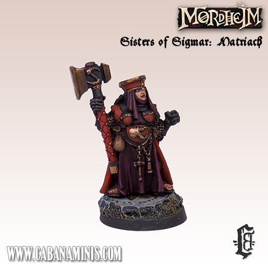 Sisters of Sigmar: Matriach #1