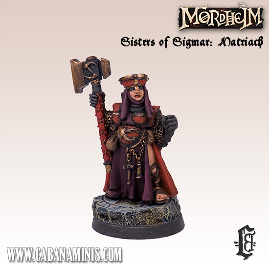 Sisters of Sigmar: Matriach #2