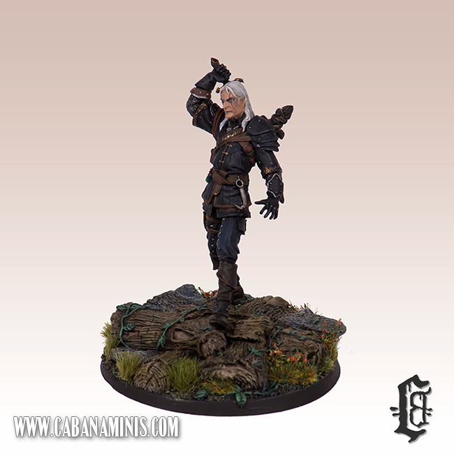 Witcher - White Wolf Miniature #2