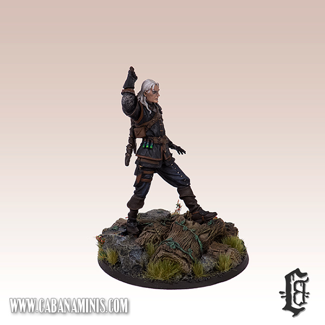 Witcher - White Wolf Miniature #3