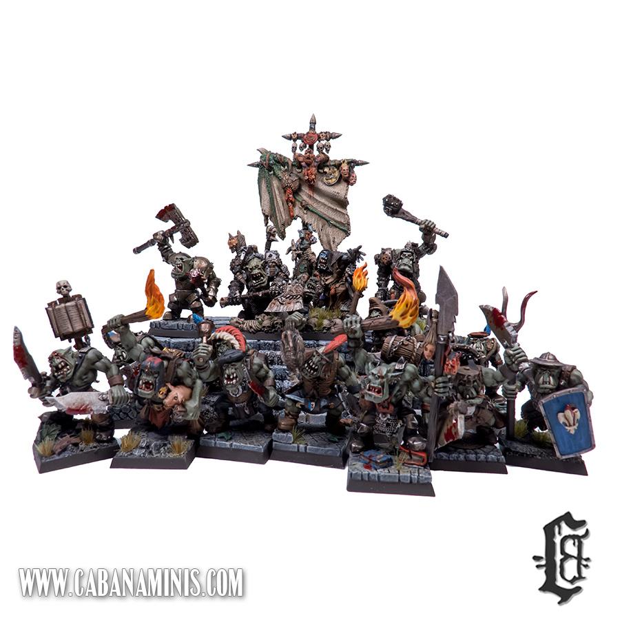 Mordheim Orc Warband