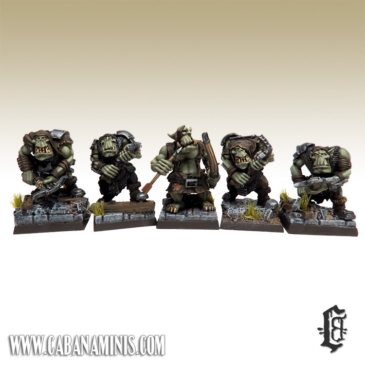 Mordheim Ranged Orcs