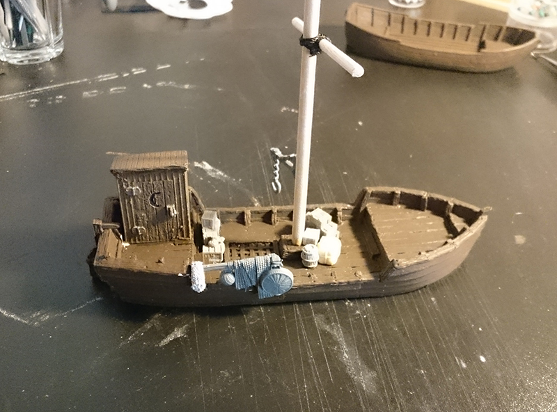 WiP Fishing Boat