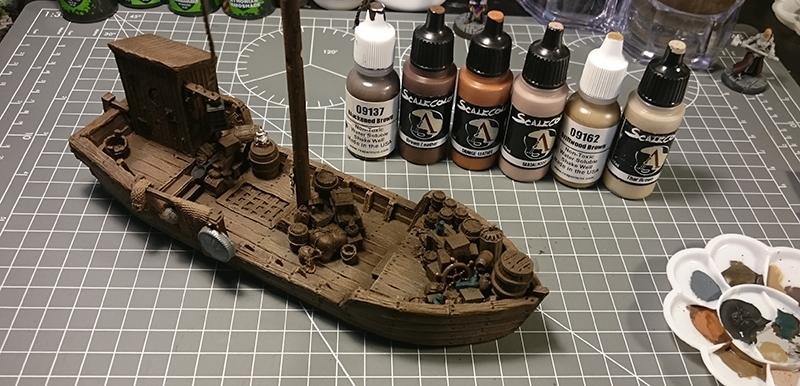 WiP Fishing Boat