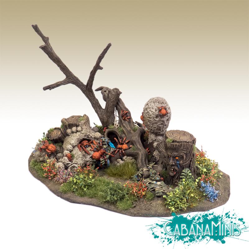 Goblin Camp - Spider Attack