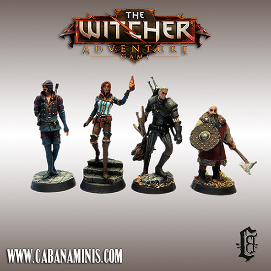The Witcher Miniatures