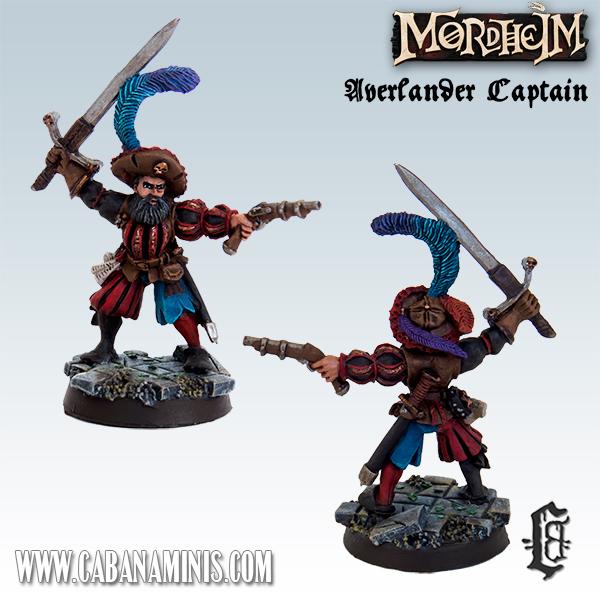 Averlander with Sword & Pistol