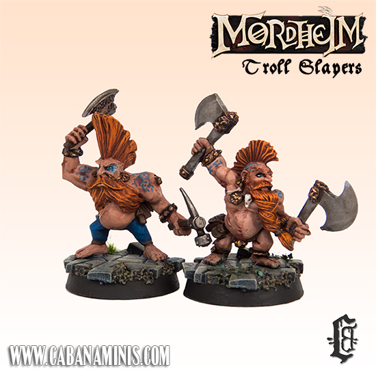 Mordheim Troll Slayers
