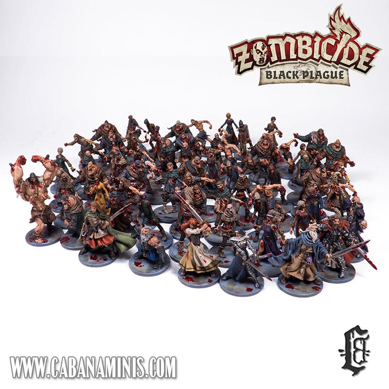Zombicide: Black Plague Miniatures Painted #2