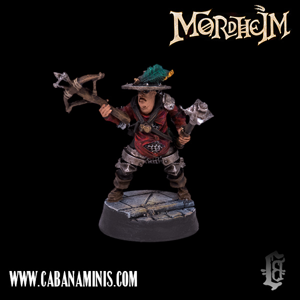 Mordheim: Reikland Captain on Foot #1