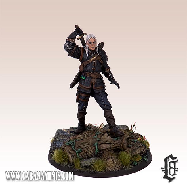 Witcher - White Wolf Miniature