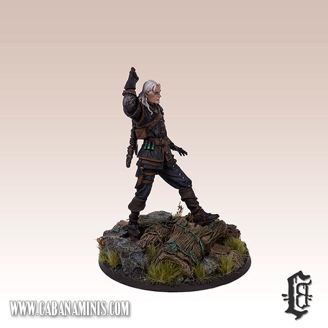 Witcher - White Wolf Miniature #3