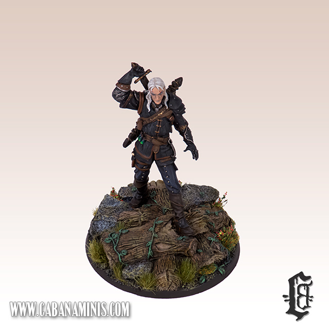 Witcher - White Wolf Miniature #4