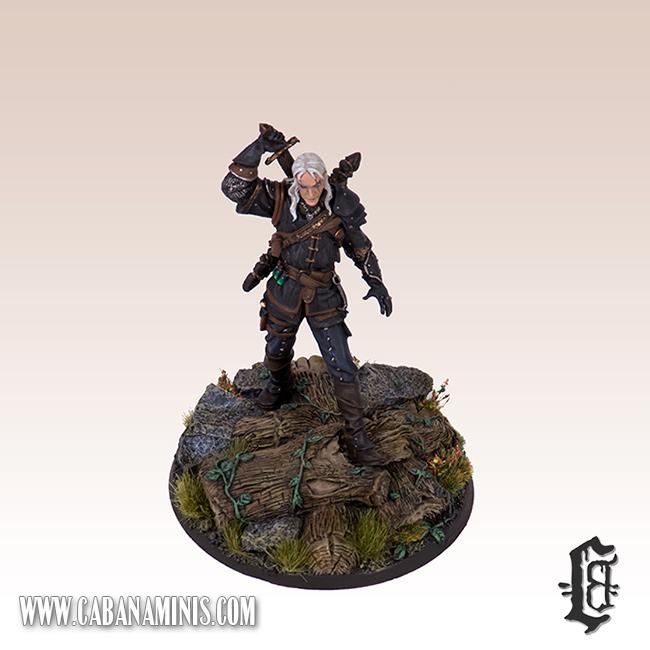 Witcher - White Wolf Miniature #4