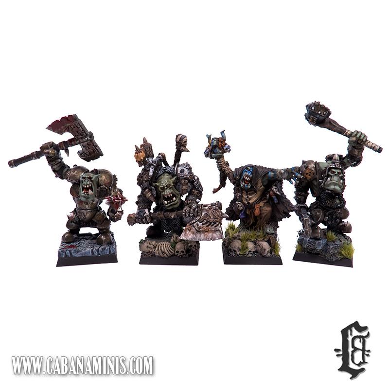 Mordheim Orc Warband Leaders