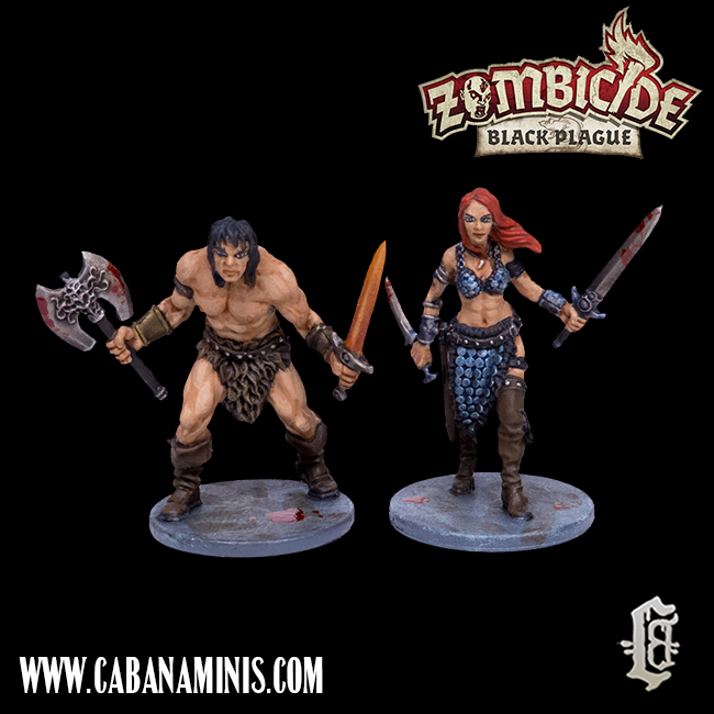 Zombicide - Grom and Thalia