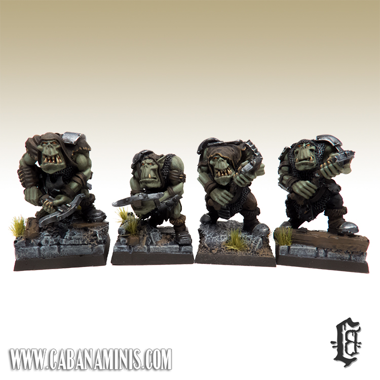 Rudlug's Armoured Orcs