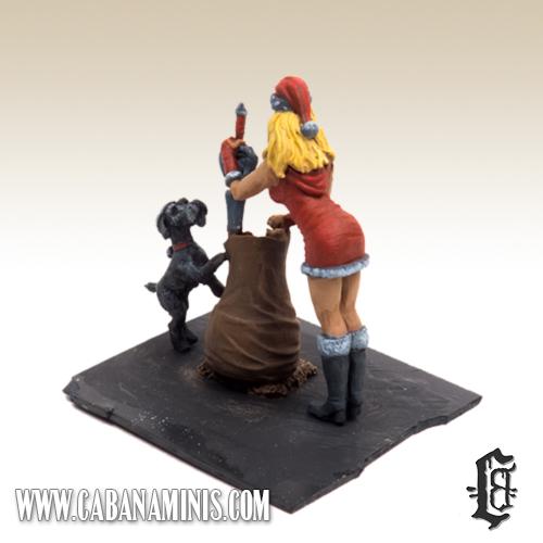 Mrs. Clause - Christmas Diorama WIP 3
