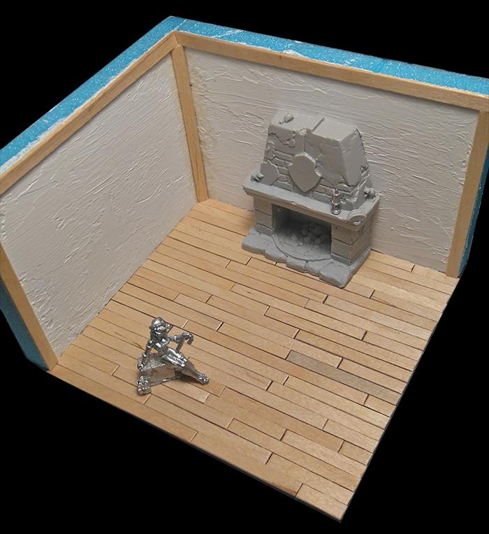 Christmas Diorama Flooring #3