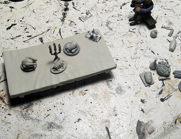 Banquet Table WIP
