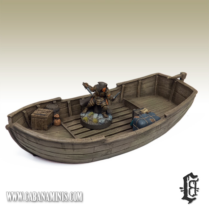 Medium Freebooter Boat with Ozzy